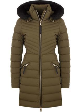 Пуховое пальто tommy hilfiger размер m
