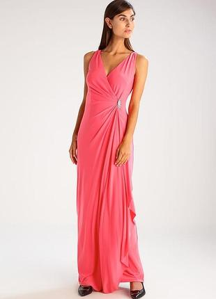 Вечернее платье ralph lauren коралловое / на новый год/ вечери...