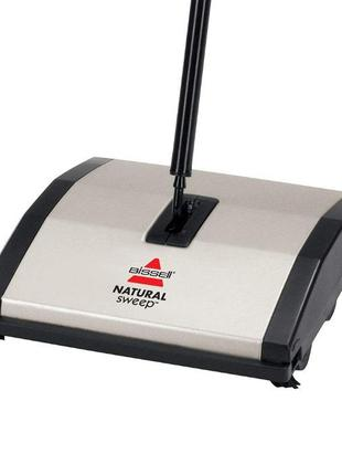 Швабра метла BISSELL Natural Sweep Carpet Sweeper - Black/Grey
