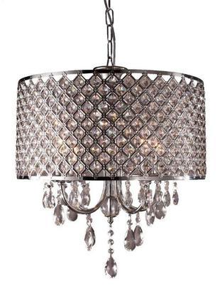Лампа светильник світильник люстра абажур Sailun хрусталь