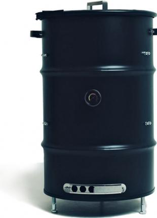Барбекю гриль BARREL UDS 100L вертикальный цилиндрический смокер,