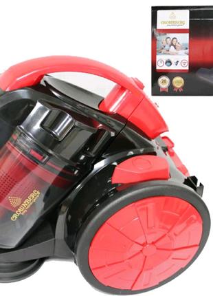 Описание Колбовый мощный пылесос Crownberg CB-0111 2400W