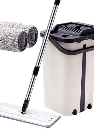 Швабра с автоматическим отжимом Scratch Cleaning