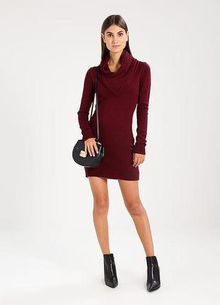 Трикотажное платье-свитер  от anna field. размер с