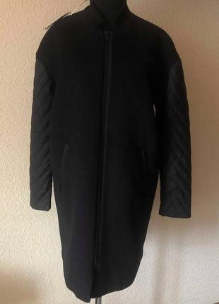 Пальто-кокон от rosemunde. размер с
