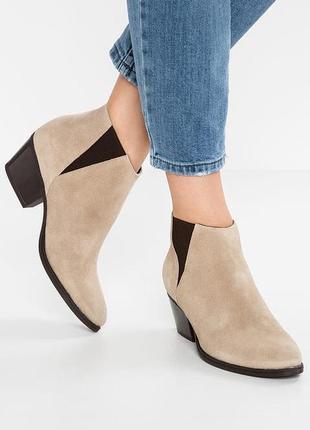 Замшевые  ботинки -челси от  pieces