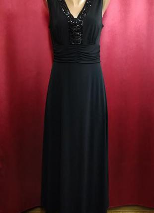 Платье вечернее черное