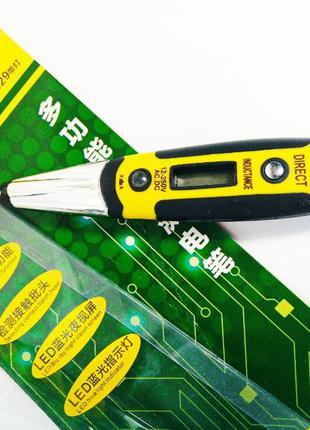 Цифровой Индукционный тестер индикатор отвертка