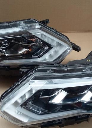 Nissan X-Trail крылья, фонари, решетка радиатора бу запчасти