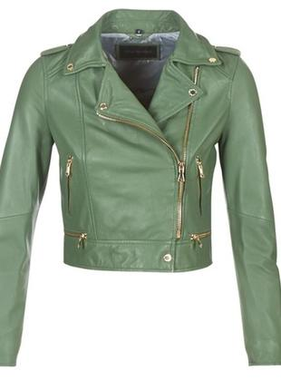 Кожаная куртка -косуха oakwood (франция)