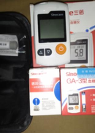 Глюкометри нові з полосками та голками 50 шт та 100 шт.