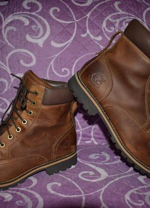 Ботинки демисезонные timberland rugged 6-inch waterproof boots
