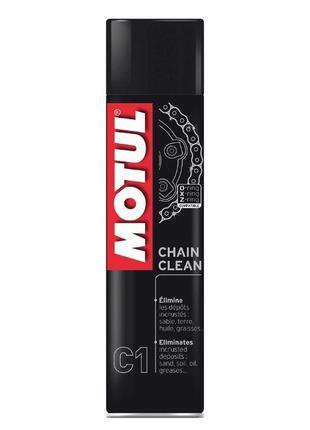 Очиститель цепи MOTUL C1 CHAIN CLEAN (400ML) Смазка/Чистка МОТ...