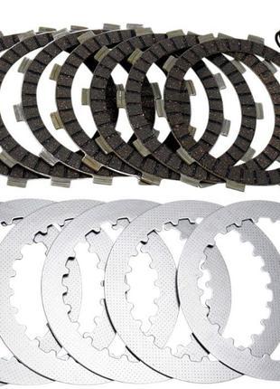 МОТО Фрикционные диски сцепления для мотоцикла.Стальные диски....