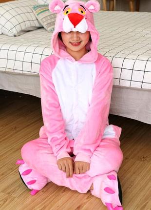 Пижама кигуруми розовая пантера - kigurumi