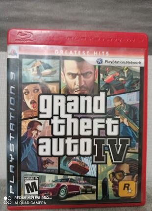 ГТА 4 для Playstation 3