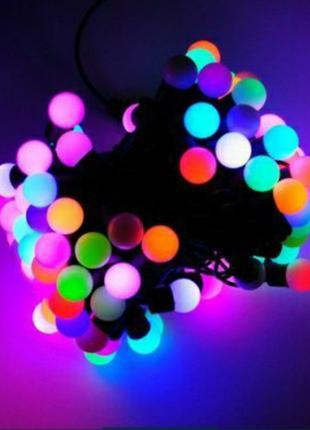 светодиодная гирлянда  ШАРИКИ 20 LED 5метров