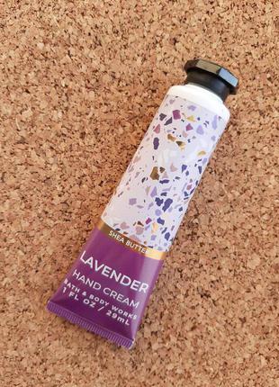 Крем для рук Lavender від Bath and Body Works