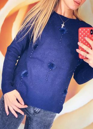 Свитшот свитер ангора травка мягкий тёплый пуловер реглан