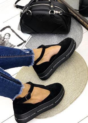 Туфли босоножки сандали замш платформа