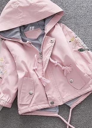 Парка  куртка детская