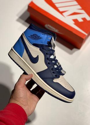 Кроссовки Nike Air Jordan 1 Retro Blue