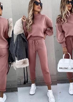 Костюм свитер кофта брюки ангора