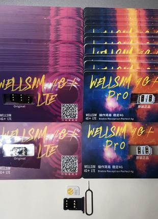 Рсим Well sim iPhone 6s 7 + 8 Plus X Xs rsim 11 pro 2 р сим r-sim