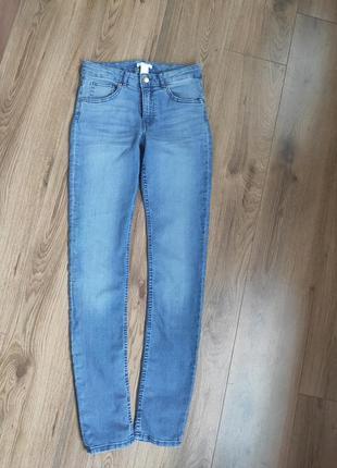 Узкие джинсы h&m