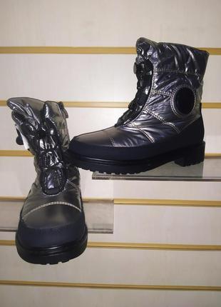 Сапоги высокие ❄️дутики сапожки зима сапоги жіночі ботинки пла...