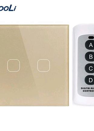 Сенсорний вимикач з пультом сенсорный выключатель света