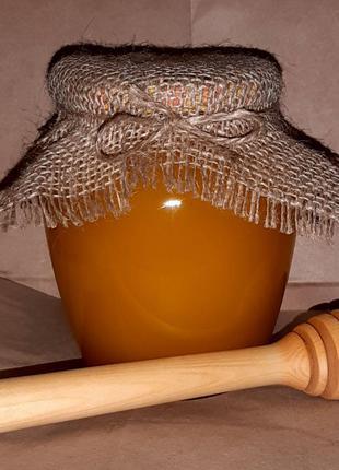Медовая ложка и мед