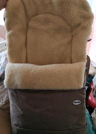 Зимний конверт в коляску и на санки Twins