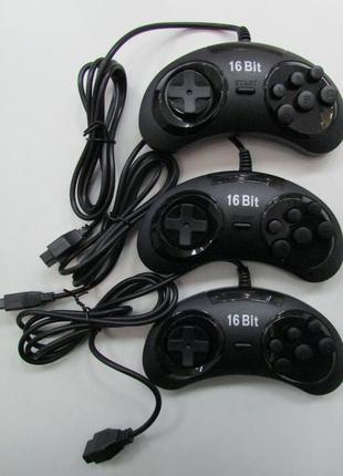 3шт. Джойстик Sega 16 Bit