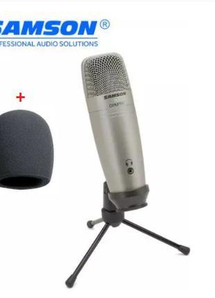 Студийный USB микрофон SAMSON C01U Pro
