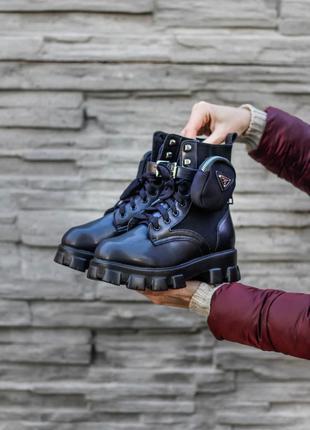 Ботинки Prada Monolith Black МЕХ