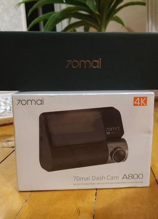 Відеореєстратор 70mai Dash Cam A800 4K Уцінка!!!