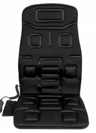 Массажная накидка на авто с подогревом Naipo (Black)