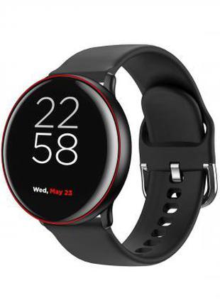 Смарт-часы CANYON CNS-SW75BR black-red 329792