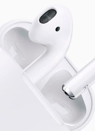 Наушники AirPods 2 with Wireless Charging Case Оригинал.Гарантия.