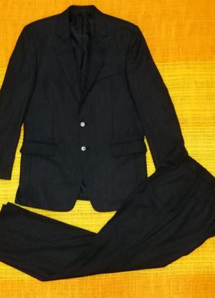 Мужской костюм, 45% шерсть, м