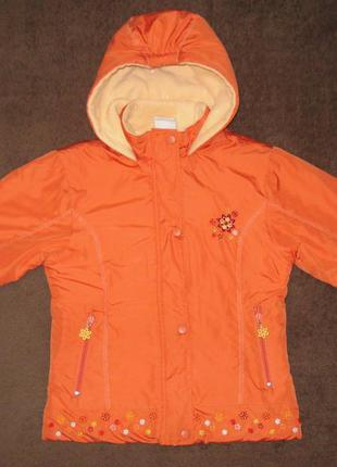 """Демисезонная куртка """"papagino"""", девочка 4-5 лет, рост 110 см"""