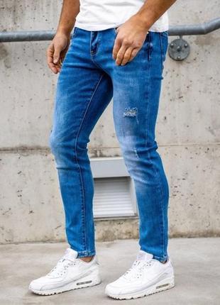 Стильные  мужские джинсы skinny 32р.