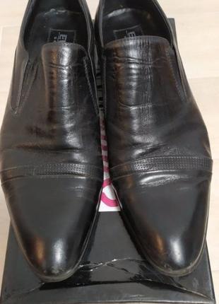 Туфли мужские кожаные Everest в отличном состоянии (р.42, 27,5см)