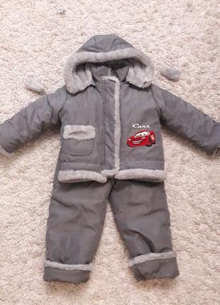Зимний комплект: куртка и комбинезон