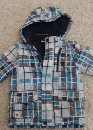 Детская курточка, осень-зима, р.80