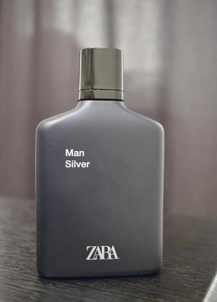 Мужские духи zara man silver 100ml,оригинал испания