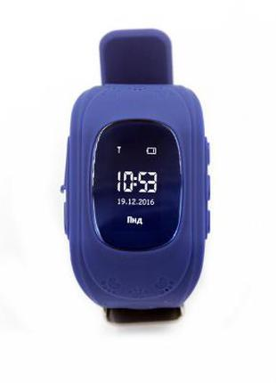 Смарт-часы GoGPS ME K50 Темно синие (K50DBL) 098675