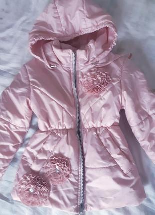 Куртка демісезонна на дівчинку