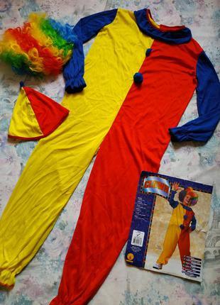 Карнавальный костюм клоуна,шут,петрушка,клоун бренд famowesta ...